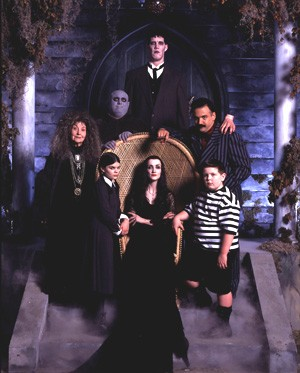 Affiche de la série The New Addams Family