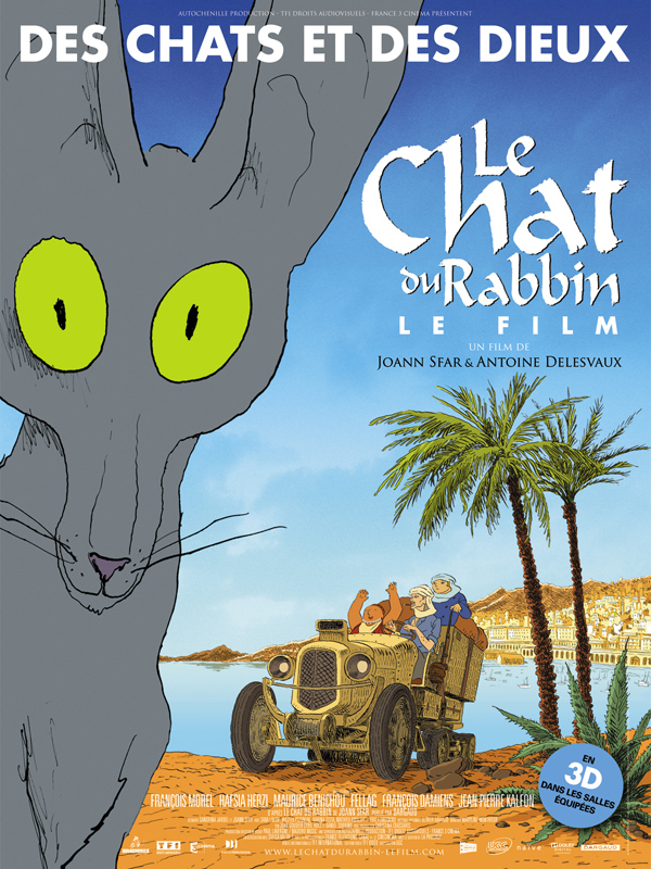 Achat Le Chat Du Rabbin En Blu Ray Allociné
