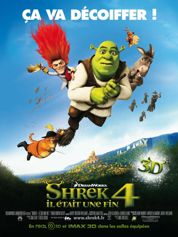 shrek 4  il  u00e9tait une fin en streaming - evstream net