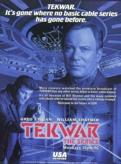 Affiche de la série TekWar: The Series
