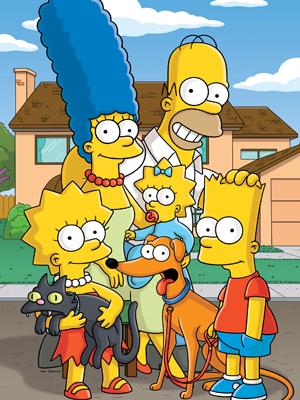 Affiche de la série The Simpsons