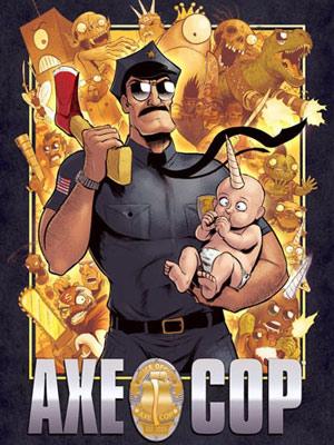 Affiche de la série Axe Cop