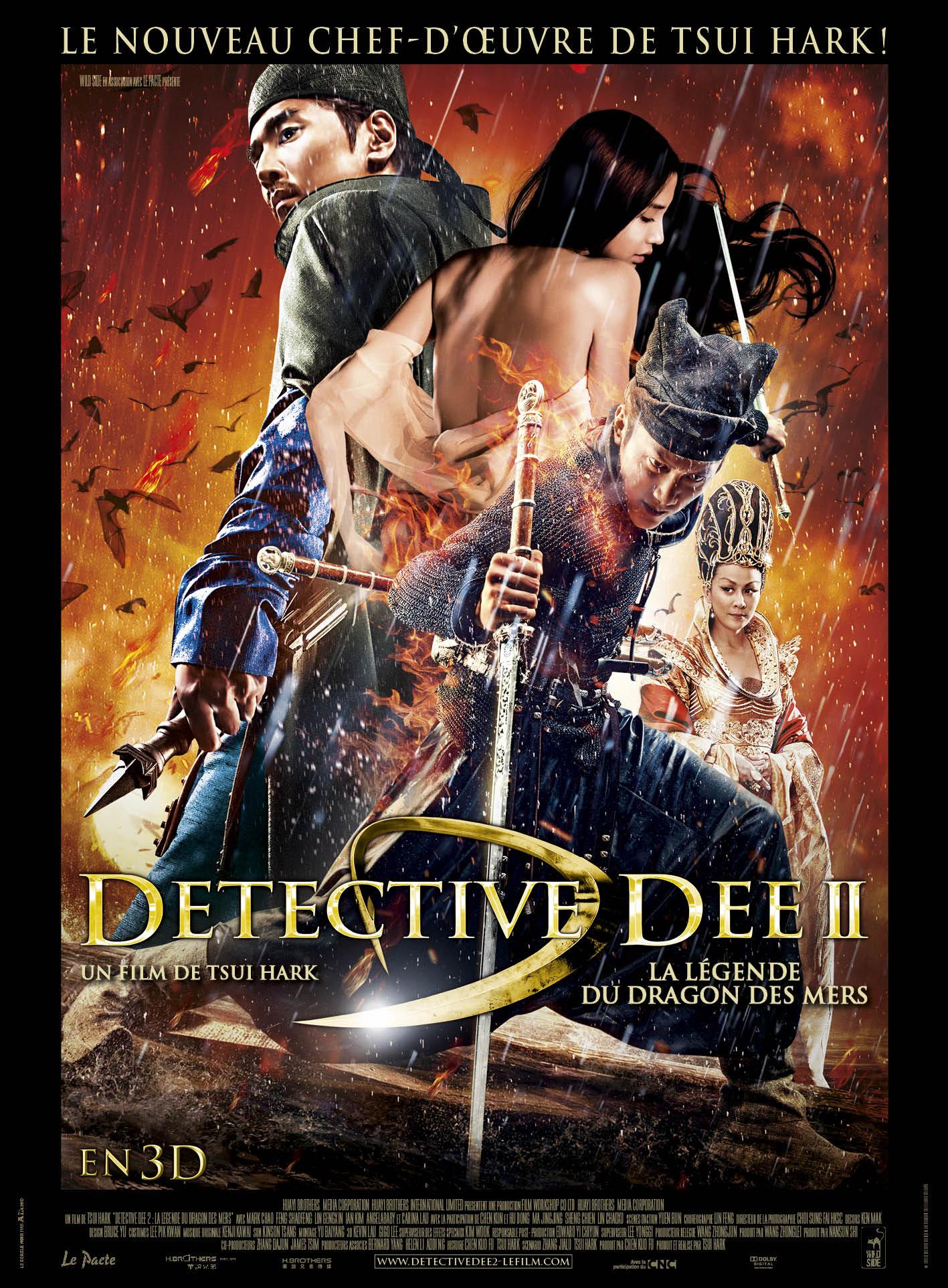 Détective Dee II : La Légende du Dragon des Mers en Streaming