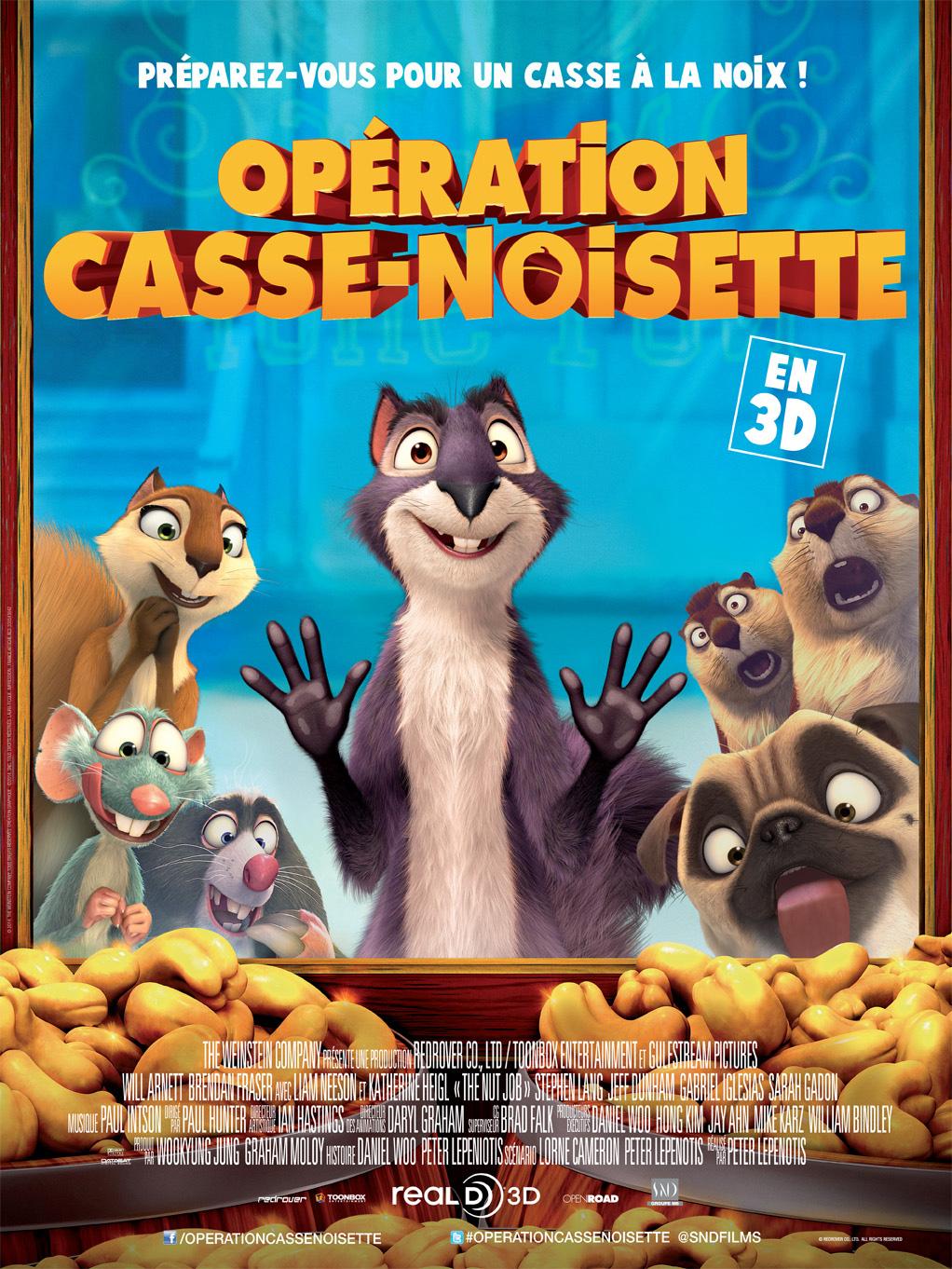 Opération Casse-noisette en Streaming