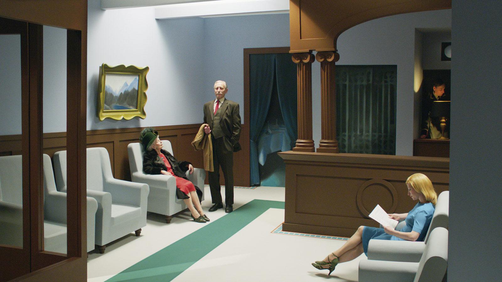 Photo du film Shirley, un voyage dans la peinture d'Edward Hopper - Photo 1 sur 8 - AlloCiné