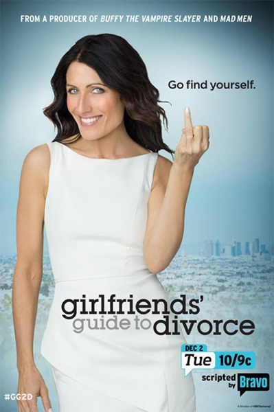 Affiche de la série Girlfriends' Guide To Divorce