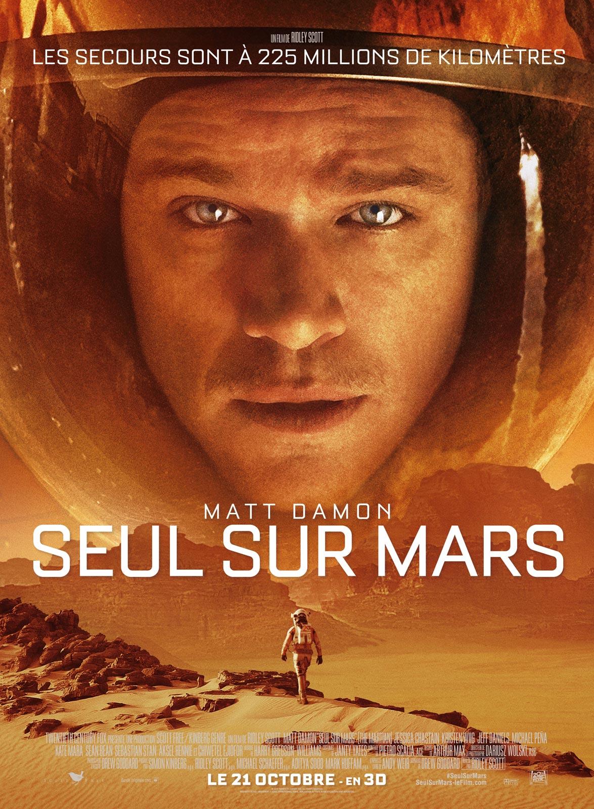 Seul sur Mars streaming
