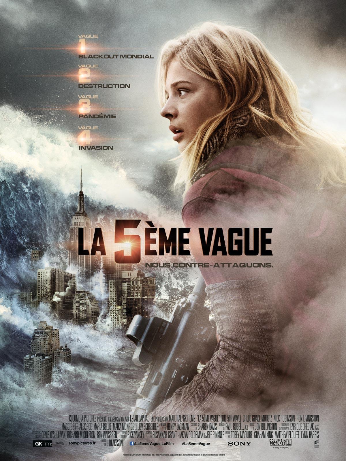 Achat La 5ème vague en Blu Ray - AlloCiné