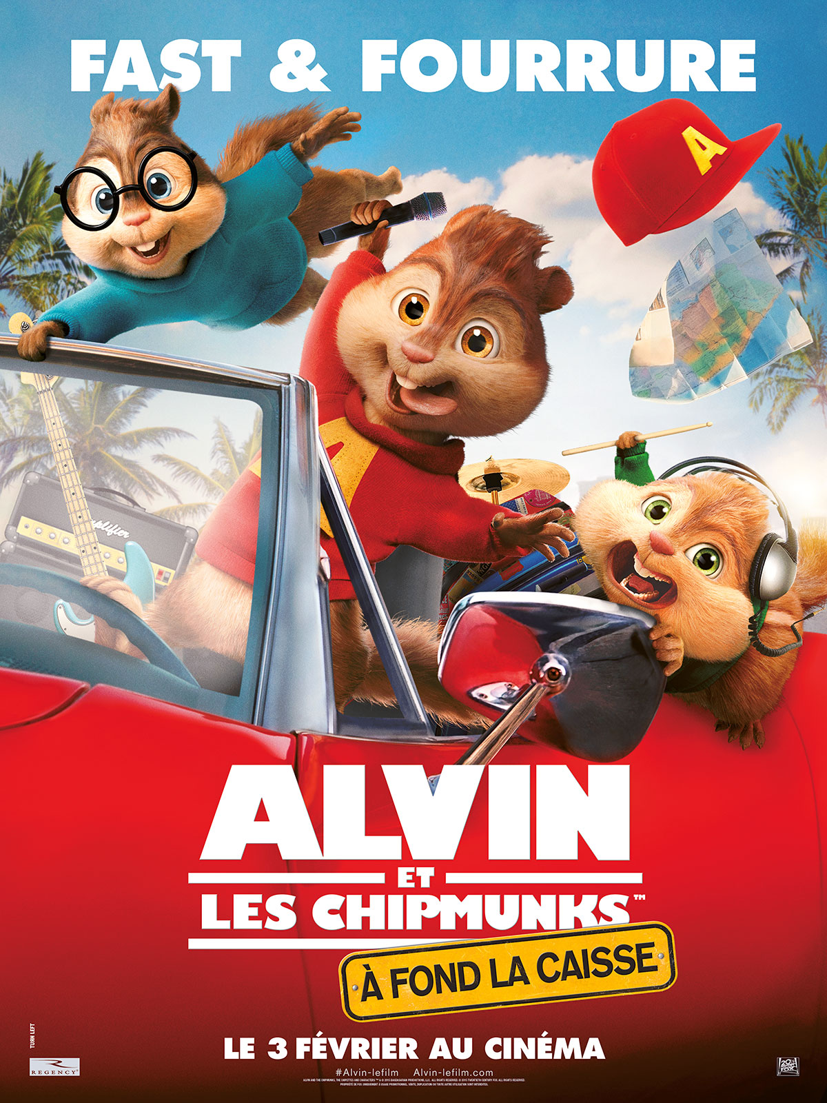 Télécharger Alvin et les Chipmunks - A fond la caisse TUREFRENCH Gratuit
