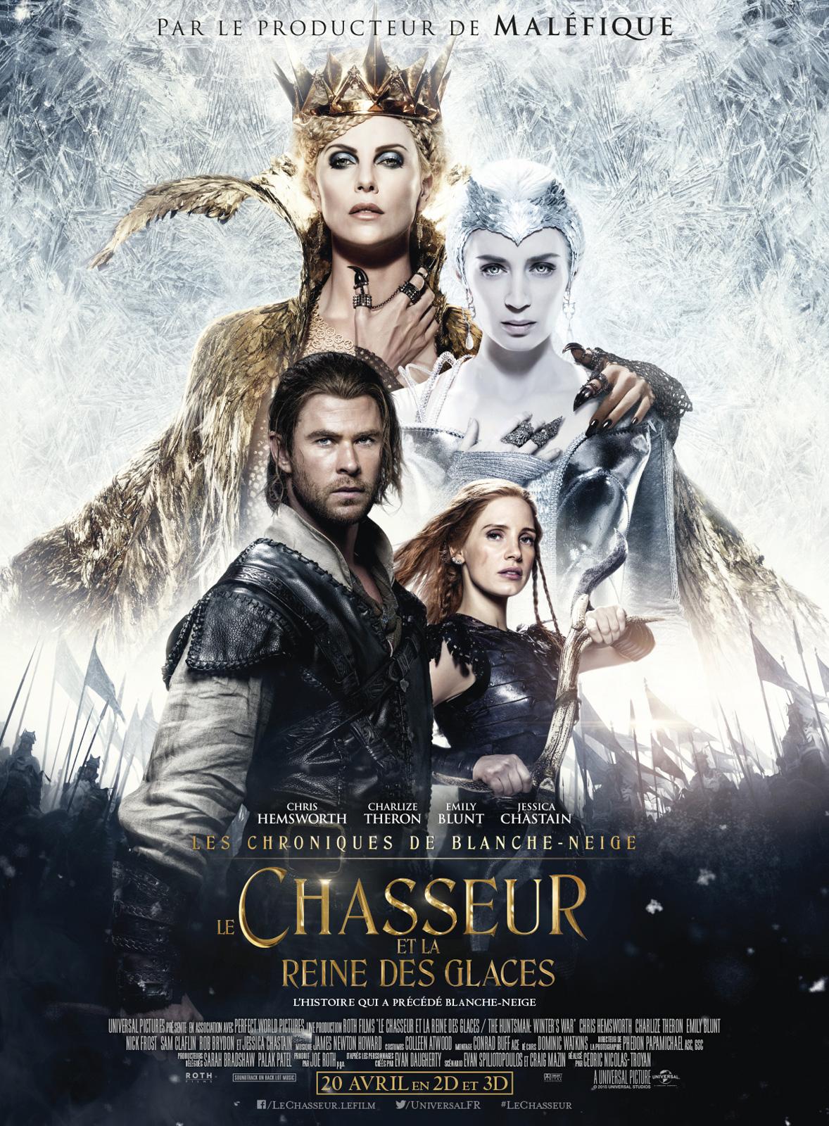Le Chasseur et la reine des glaces ddl