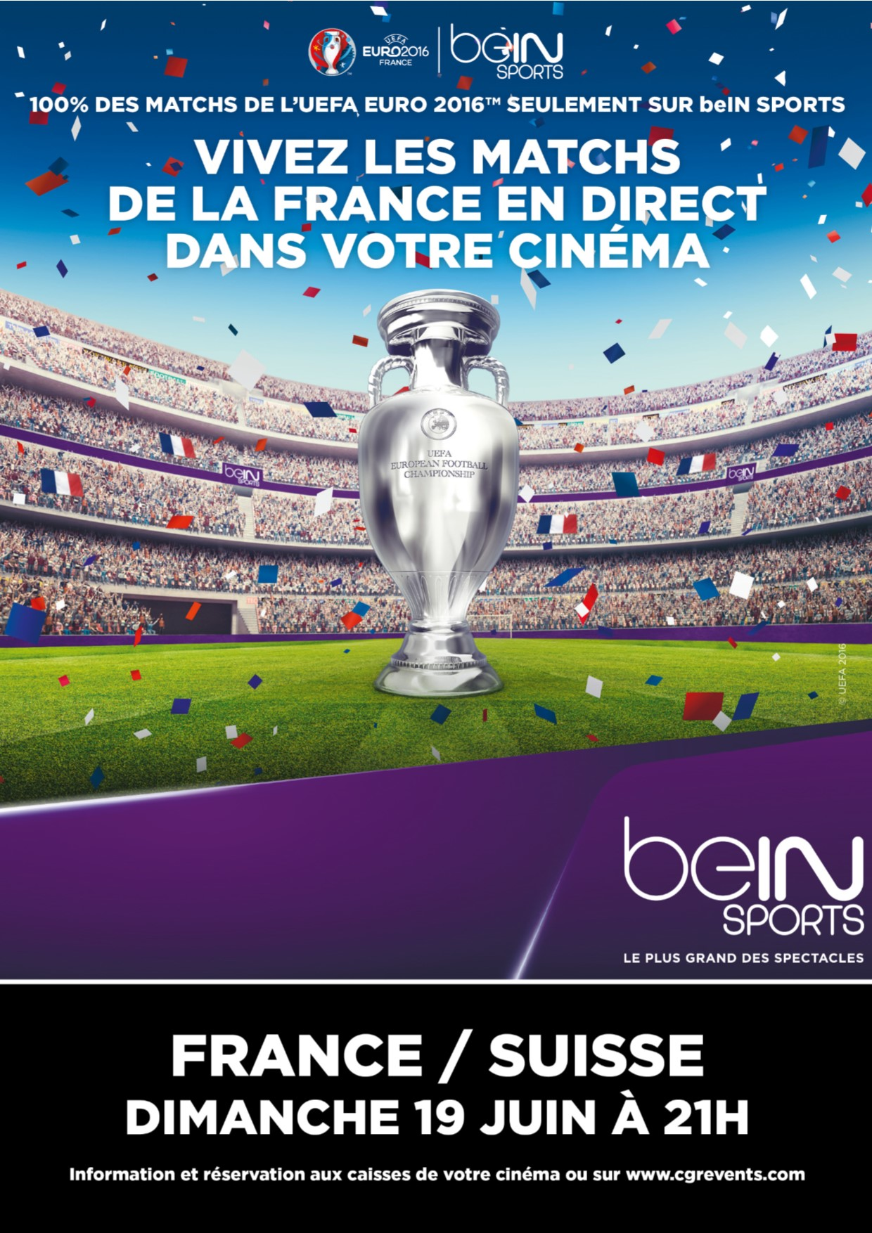 Télécharger Euro 2016 : France / Suisse (CGR Events) VF Complet Uploaded