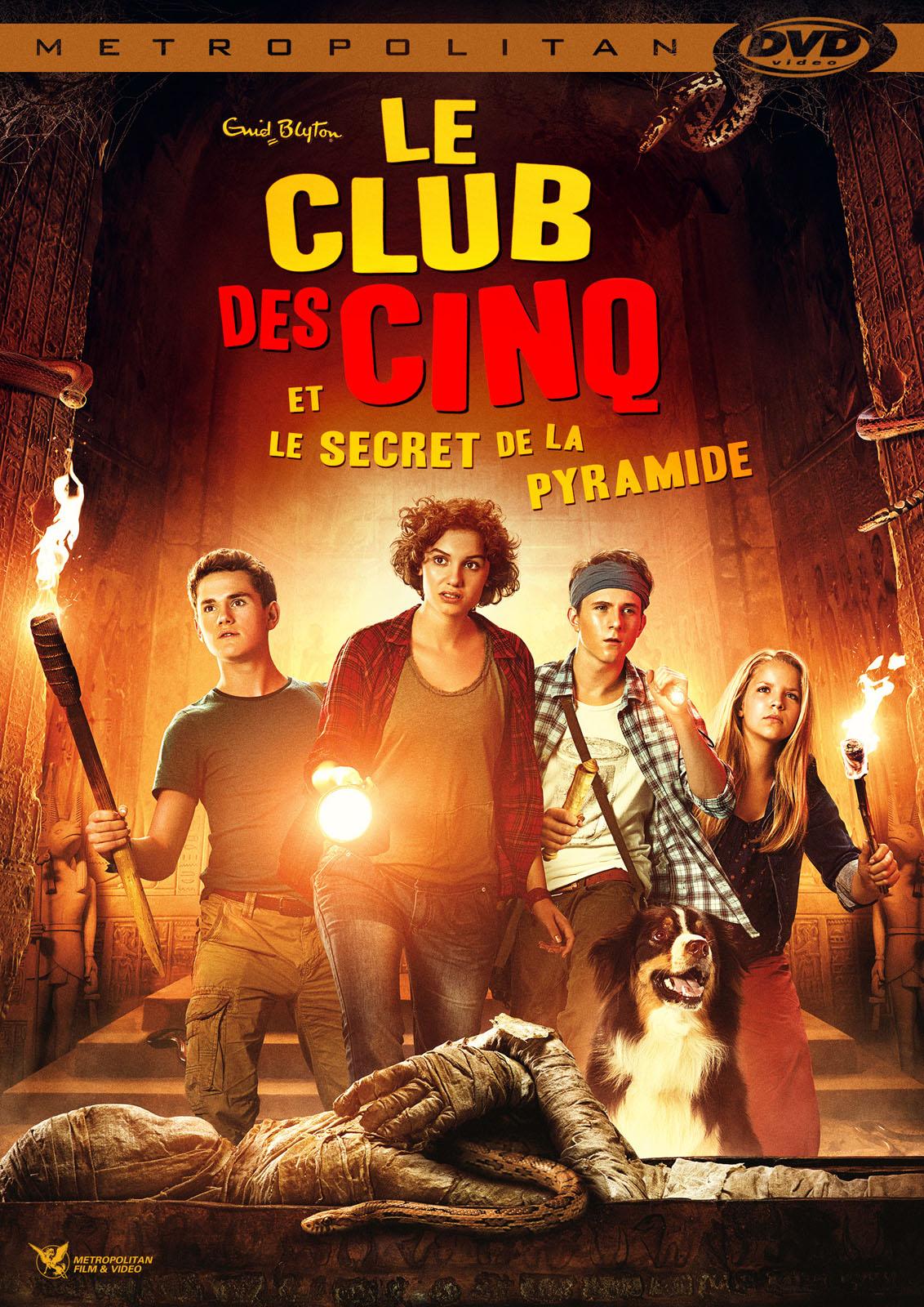 Le Club des 5 et le Secret de la Pyramide - film 2015 ...