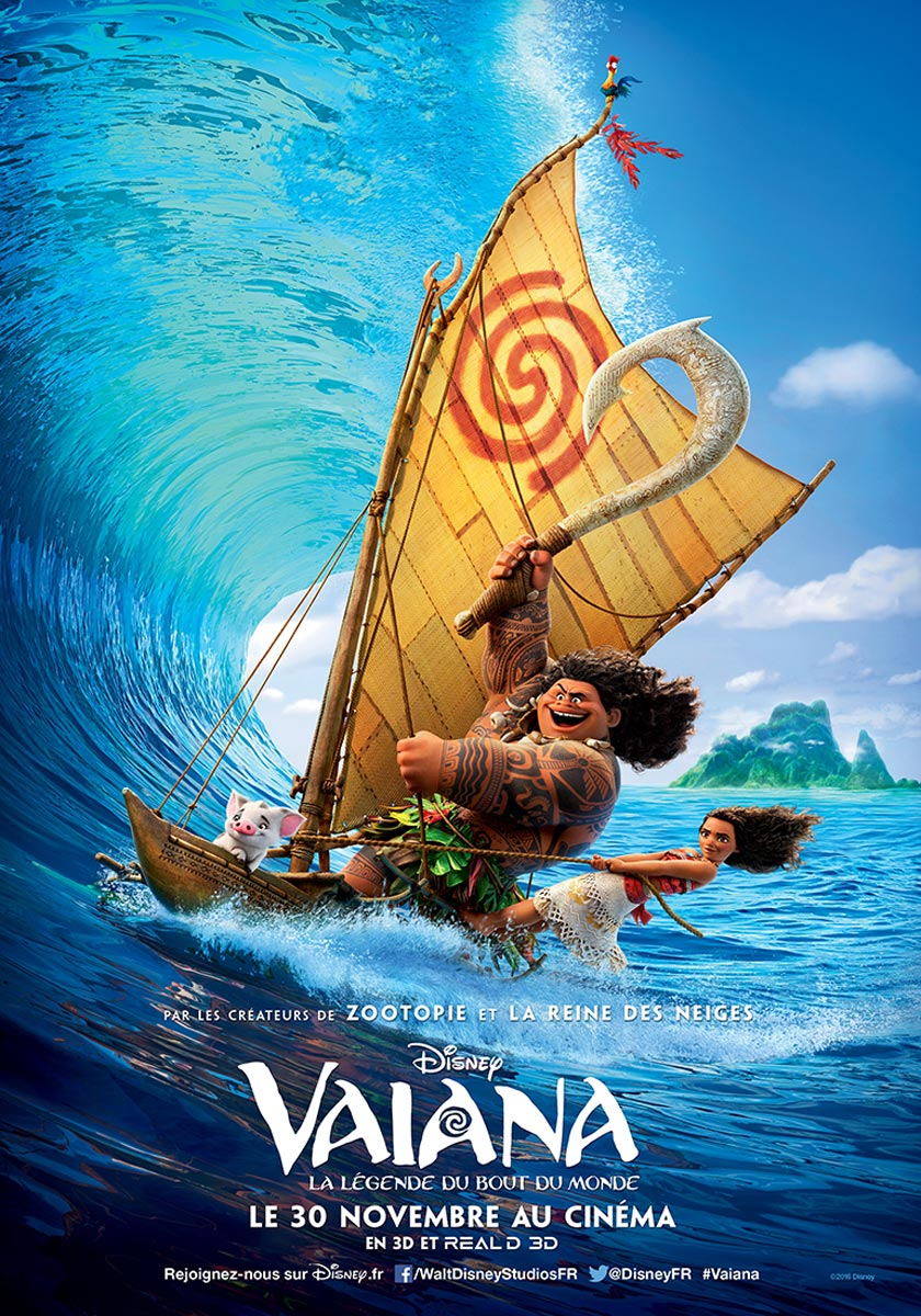 Vaiana, la légende du bout du monde streaming