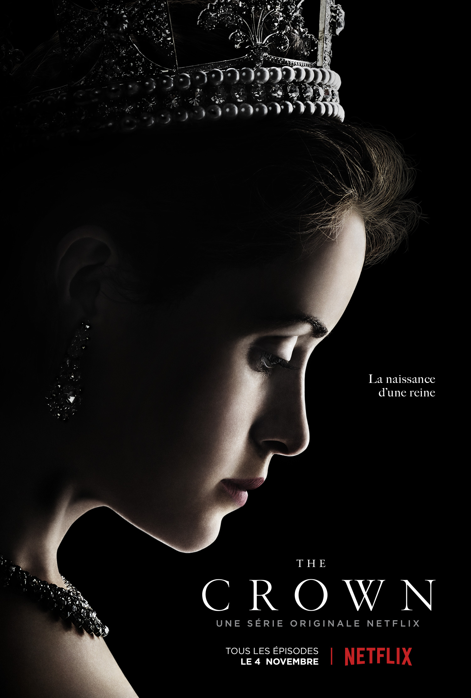 Affiche de la série The Crown