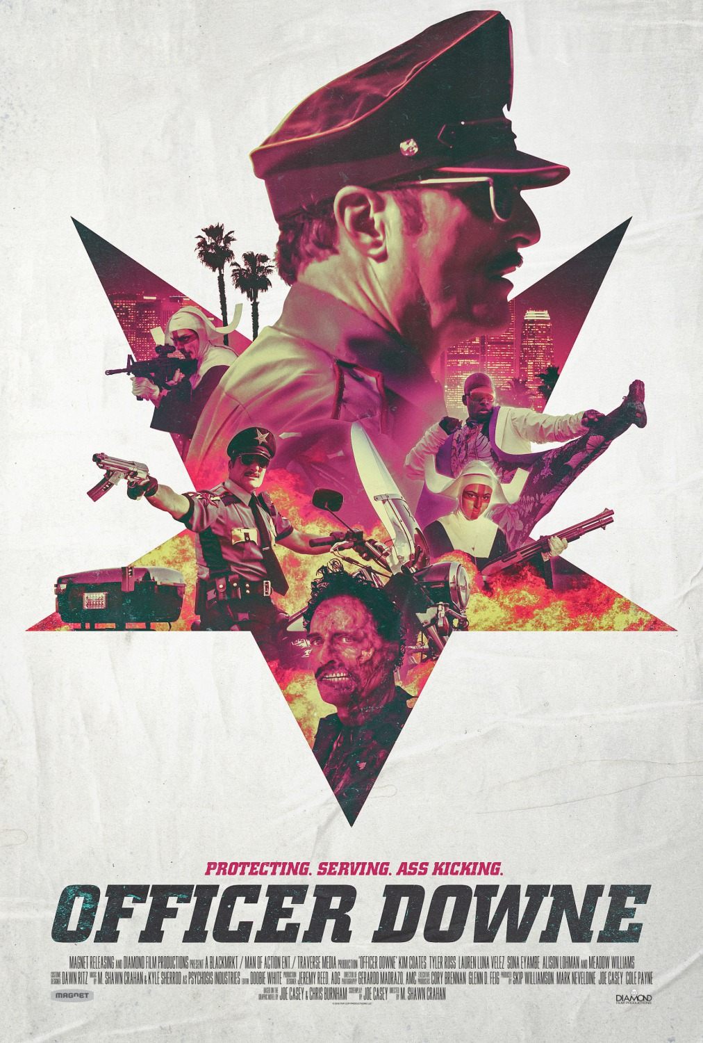 Télécharger Officer Downe DVDRIP VF