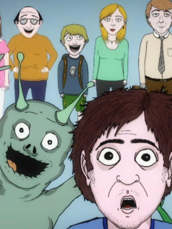 Affiche de la série Jeff & Some Aliens