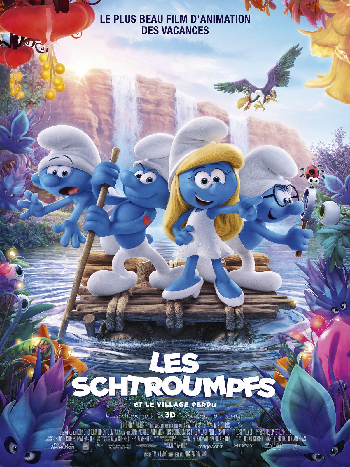 Casting Du Film Les Schtroumpfs Et Le Village Perdu Realisateurs