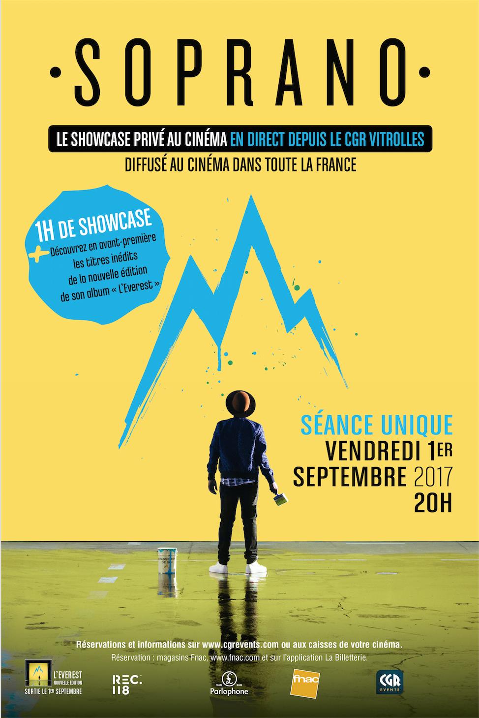 Télécharger Soprano en Showcase en direct au cinéma (CGR Events 2017) Complet VF Uploaded