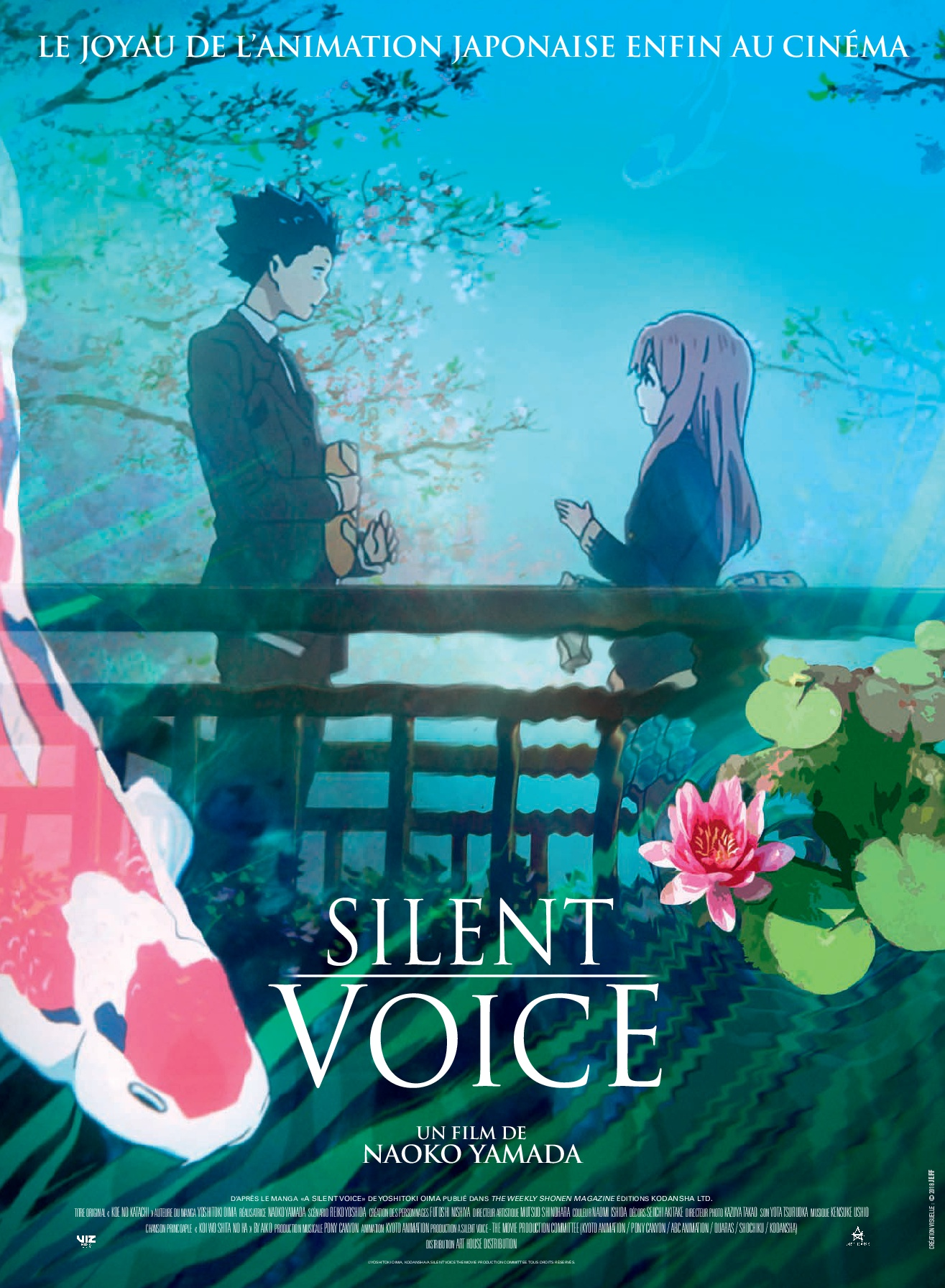 Silent Voice Film 2018 Allocine