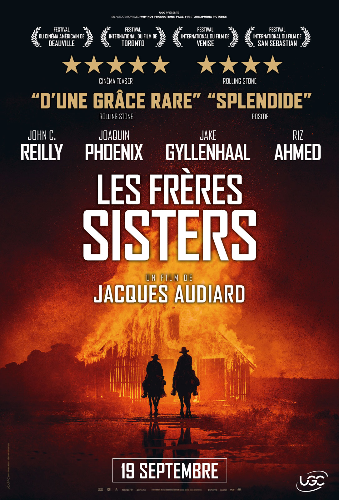 AfficheLes Frères Sisters