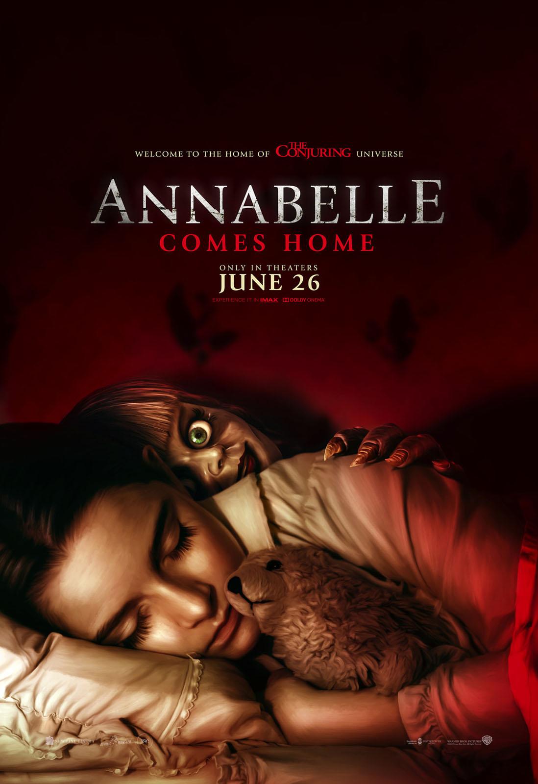 Affiche du film Annabelle – La Maison Du Mal - Photo 10 sur 10