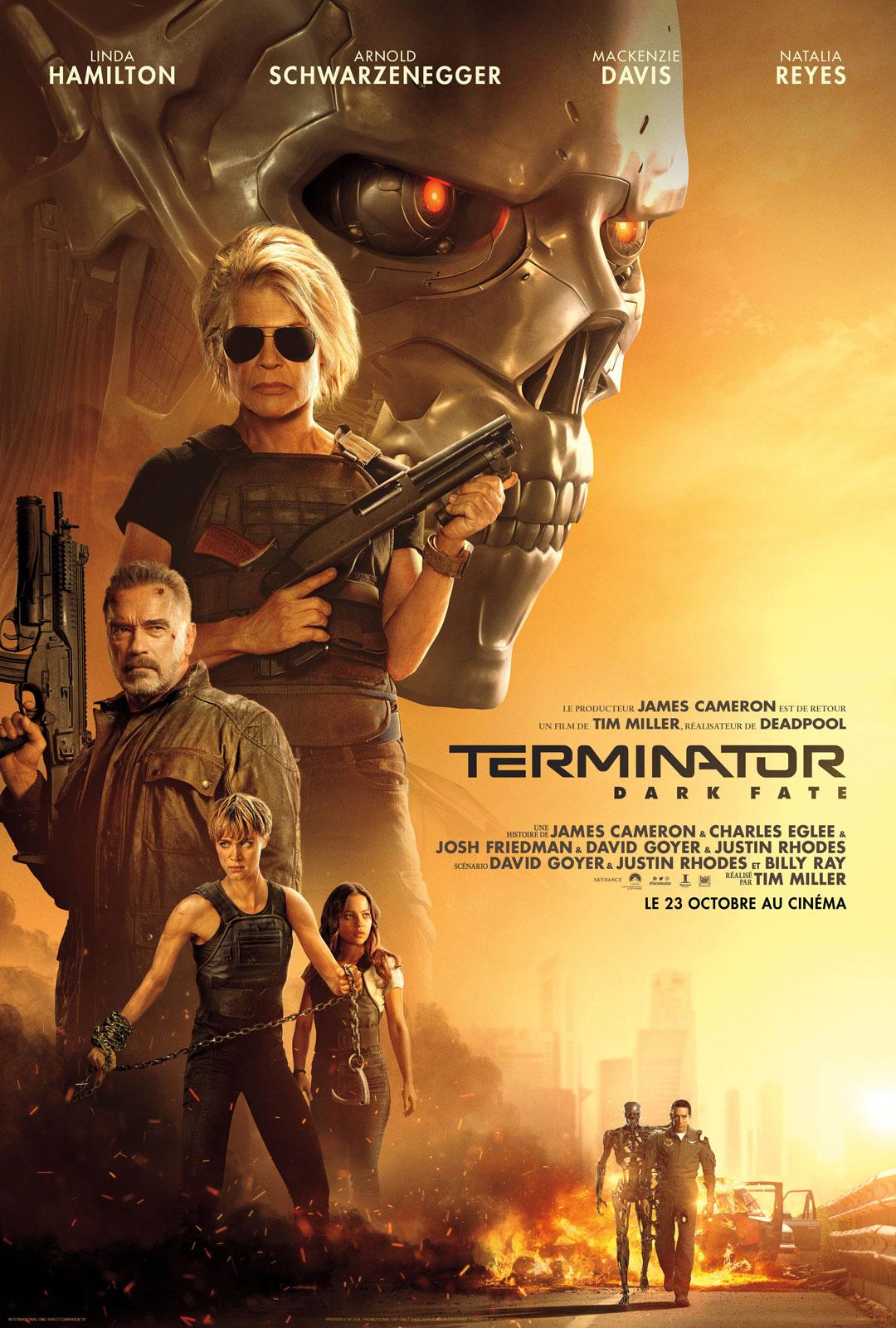 Achat Terminator: Dark Fate en Blu Ray - AlloCiné