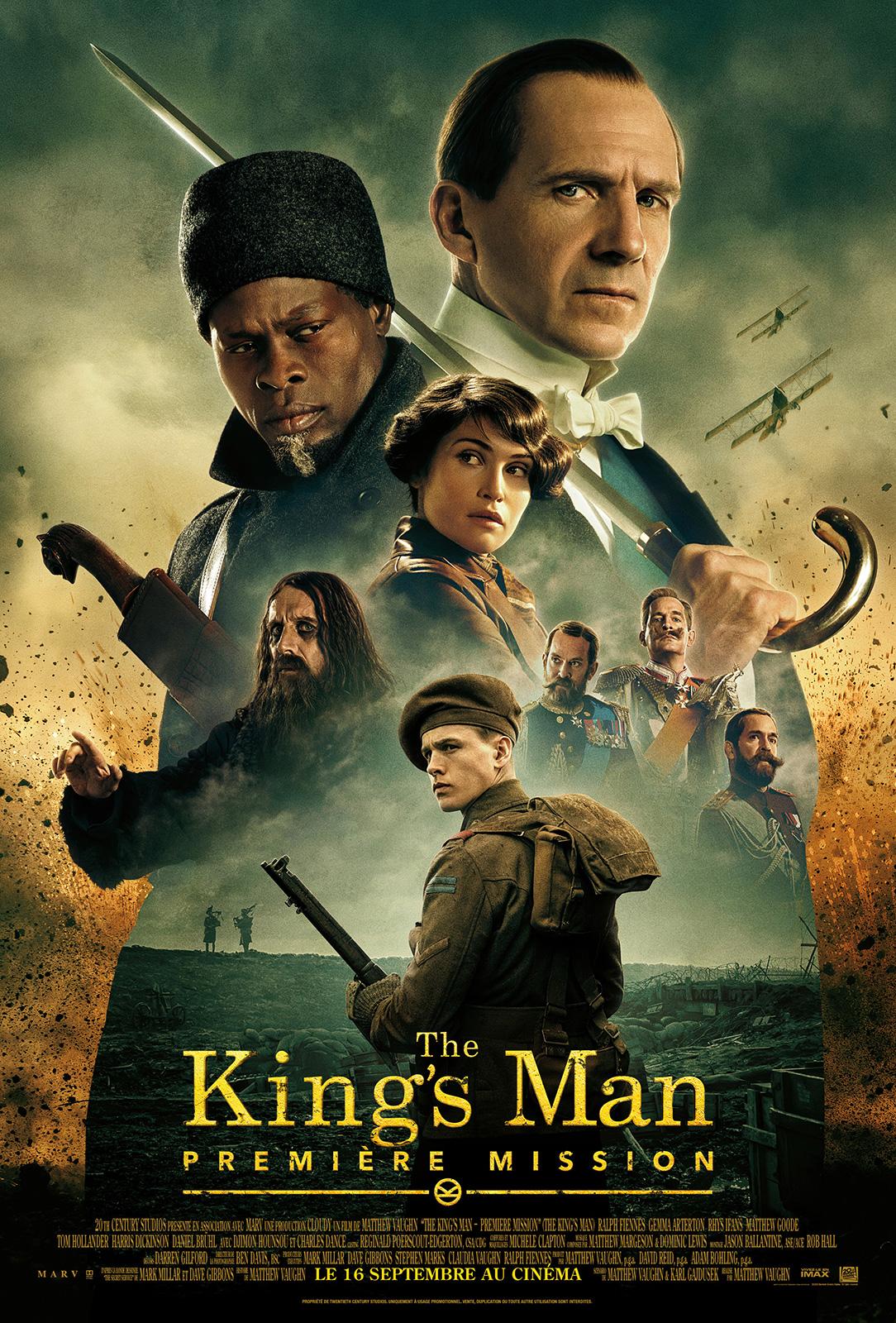 Affiche du film The King's Man : Première Mission - Photo 12 sur 30 -  AlloCiné