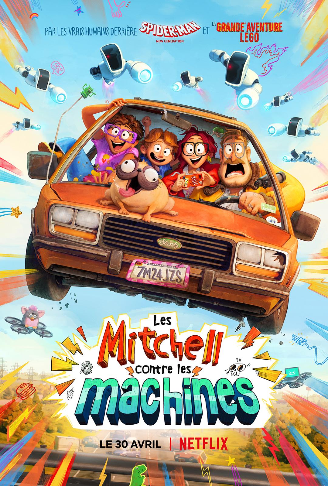 Les Mitchell contre les machines - film 2021 - AlloCiné