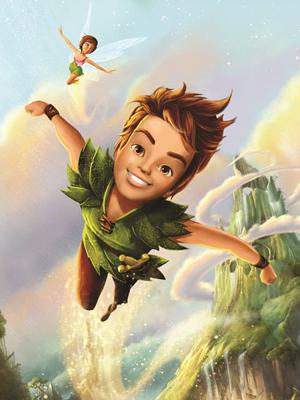 Affiche de la série Les Nouvelles Aventures de Peter Pan