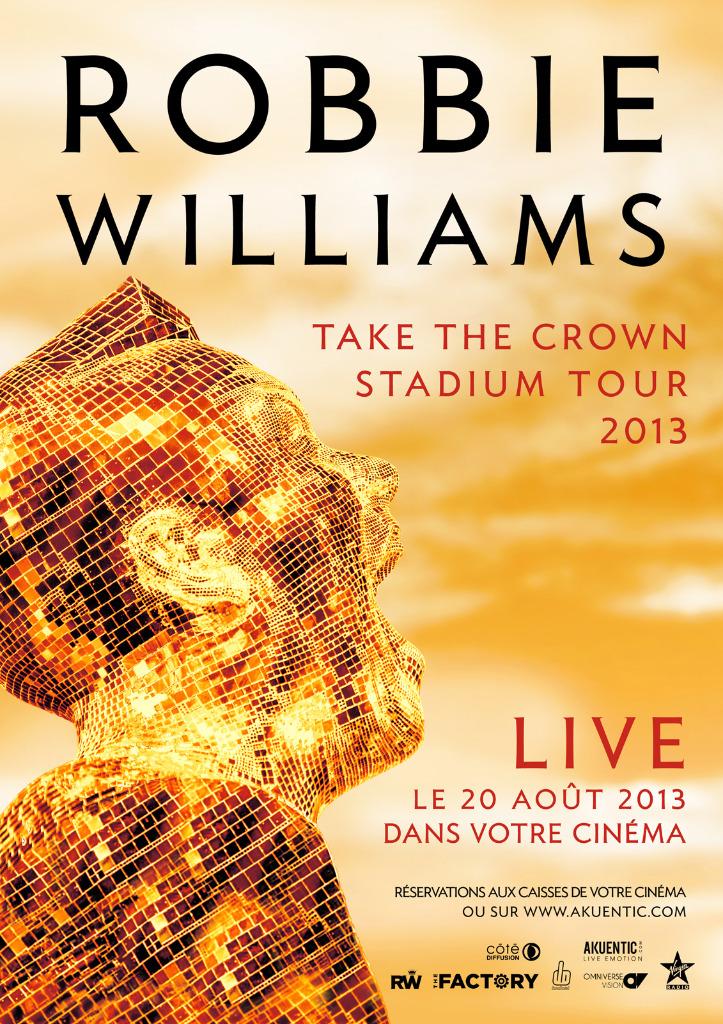 Télécharger Robbie Williams en concert (Côté Diffusion) HDLight 720p HD
