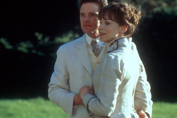 Colin Firth et Frances O'Connor Paul Chedlow/Good Machine Intern.