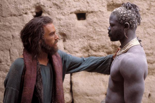 Heath Ledger et Djimon Hounsou
