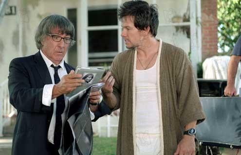 Dustin Hoffman et Mark Wahlberg