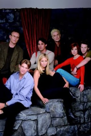 Buffy contre les vampires : Photo Alyson Hannigan, Anthony Head, James Marsters, Marc Blucas, Nicholas Brendon