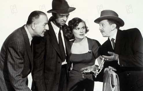 Quand la ville dort : Photo Jean Hagen, John Huston, Louis Calhern, Sam Jaffe, Sterling Hayden
