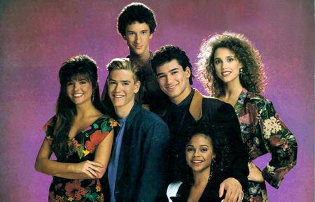 Sauvés par le gong (1989) : Photo Dustin Diamond, Elizabeth Berkley, Lark Voorhies, Mario López, Mark-Paul Gosselaar