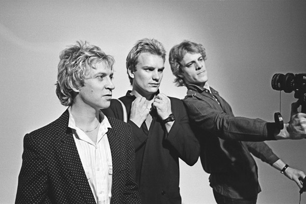 Everyone stares : The Police inside out : Photo Andy Summers, Stewart Copeland, Sting