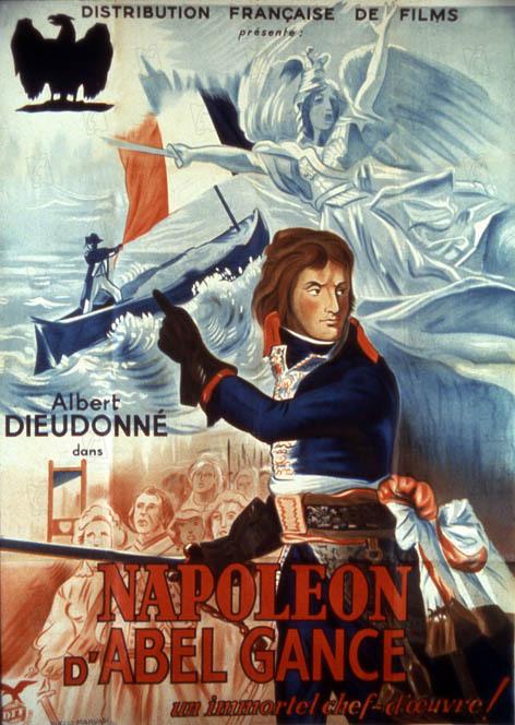 Napoléon : Affiche Abel Gance, Albert Dieudonné