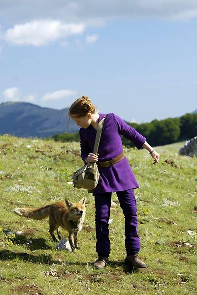 Le renard et l'enfant : Photo Bertille Noël-Bruneau