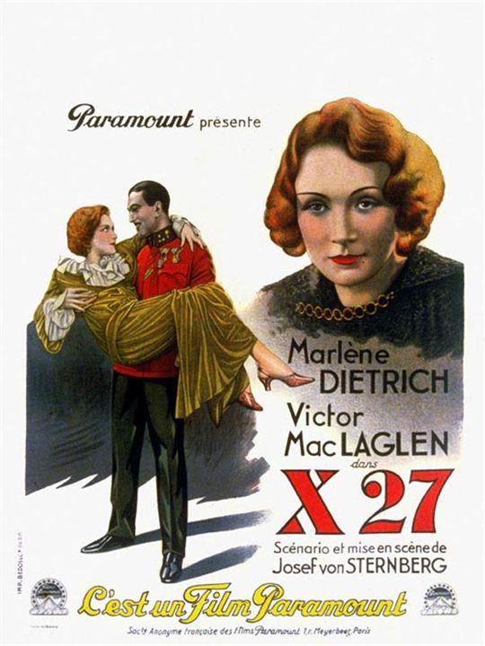 Agent X27 : Affiche Josef von Sternberg, Victor MacLaglen
