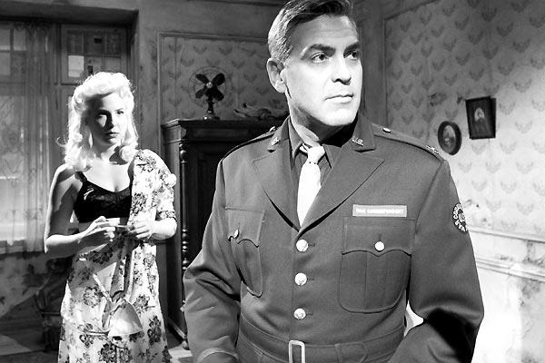 Robin Weigert et George Clooney
