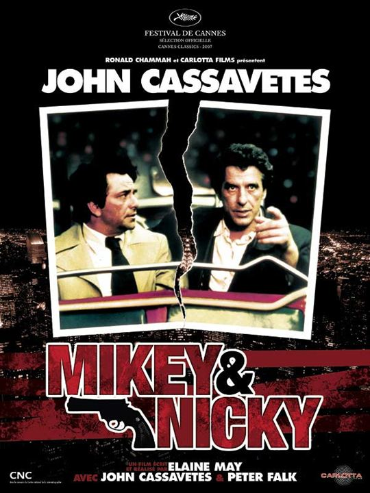 Mikey and Nicky : Affiche Elaine May, John Cassavetes, Peter Falk