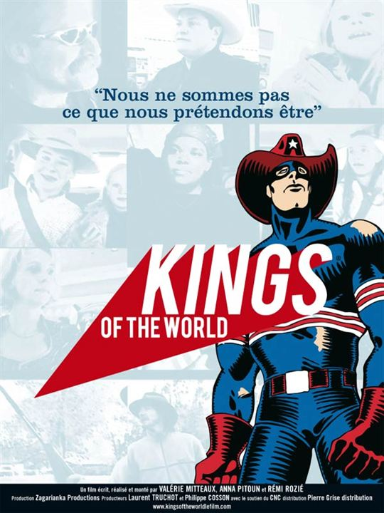 Kings of the World : Affiche Anna Pitoun, Rémi Rozié, Valérie Mitteaux