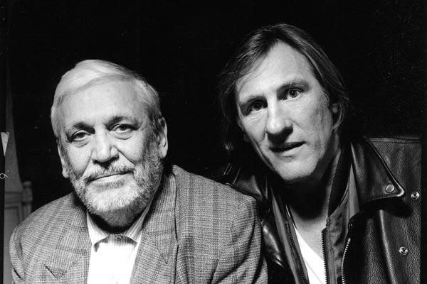Maurice Pialat et Gérard Depardieu