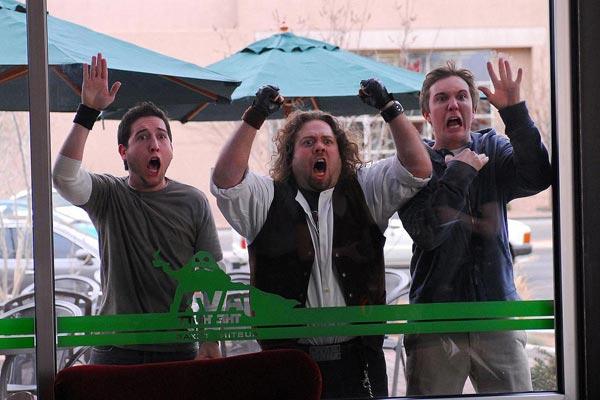 Dan Fogler, Chris Marquette et Kyle Newman