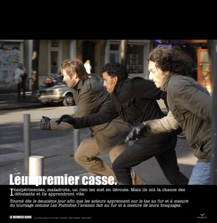 Le Dernier gang : Photo Ariel Zeitoun, Patrick Dell'Isola, Sami Bouajila, Vincent Elbaz