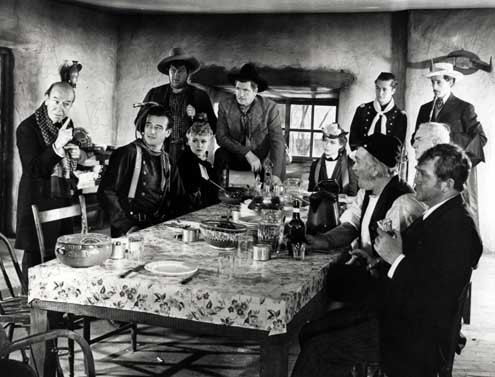 La Chevauchée fantastique : Photo Andy Devine, Claire Trevor, George Bancroft, John Carradine, John Ford