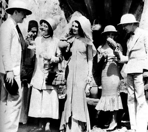 Joan Berry, Percy Marmont, Betty Amann, Elsie Randolph, Henry Kendall
