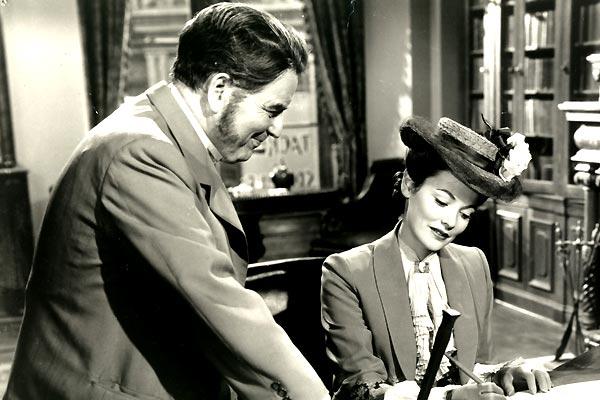 L'Aventure de Mme Muir : Photo Gene Tierney, Joseph L. Mankiewicz