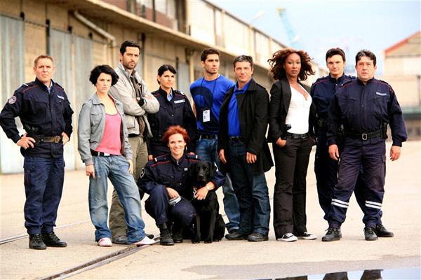 Action Spéciale Douanes : Photo Boris Terral, Claire Perot, Jean-Pierre Sanchez, Marc Duret, Nadège Beausson-Diagne